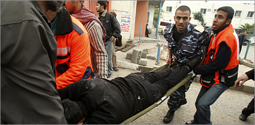 Breakingnews! Inna lillah! Israel Bantai Warga Gaza!!!