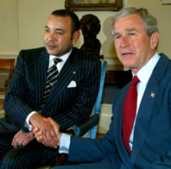 US-MOROCCO-BUSH