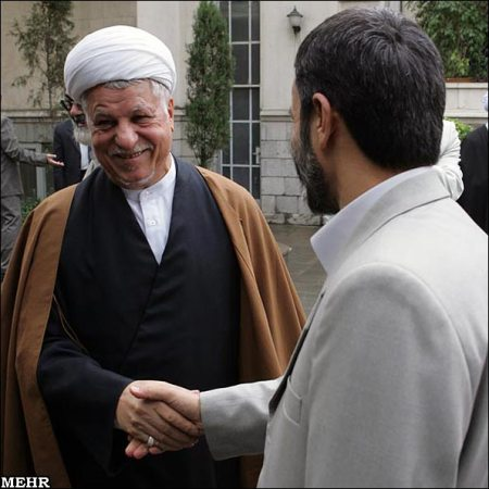 rafsanjani-and-Ahmadinejad